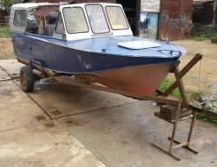 Казанка-2М. двигатель подвесной, бензин