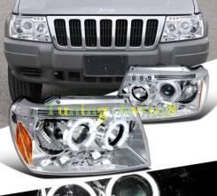 Фары передние тюнинг Jeep Grand Cherokee 1999-