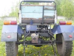 Самодельная модель. Самодельный трактор, 887 куб. см.