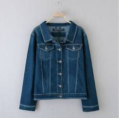Куртки джинсовые. 48, 50, 52, 54, 56
