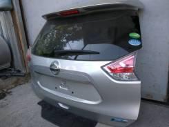 Крышка багажника. Nissan X-Trail, NHT32, NT32, HT32, HNT32