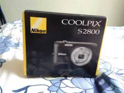 Nikon Coolpix S2800. 20 и более Мп, зум: 5х