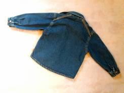 Куртки джинсовые. Рост: 86-98, 98-104 см