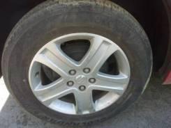 Продам колеса с летней резиной 225/65/17 сверловка 5*139,7. 6.5x17 5x139.70 ET45 ЦО 100,0мм.