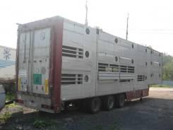 FLOOR FLSDO1227, 2005. Продается полуприцеп скотовоз, 28 580 кг.