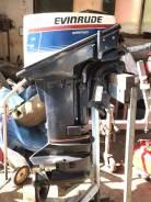 Evinrude. 9,00л.с., 2х тактный, бензин, нога S (381 мм)