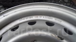 Nissan. 5.0x13, 4x100.00, ЦО 60,0мм.