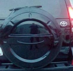 Колпак запасного колеса. Toyota Land Cruiser Prado, LJ120, KDJ120W, TRJ120W, KZJ120, GRJ120, TRJ120, RZJ120W, GRJ120W, VZJ120, KDJ120, RZJ120, VZJ120W...