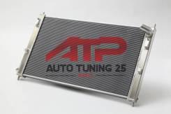 Радиатор охлаждения двигателя. Mitsubishi Lancer, CY Двигатели: 4B10, 4B11, 4A91