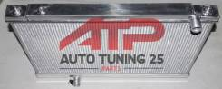Радиатор охлаждения двигателя. Nissan GT-R, R35 Двигатель VR38DETT