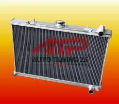 Радиатор охлаждения двигателя. Nissan Silvia, S13 Nissan 200SX, S13 Nissan 180SX Nissan Skyline Двигатели: SR20DET, RB20DET, RB25DET