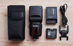 Фотовспышка godox V860 II для Canon