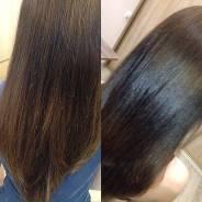 Коллагеновое обёртывание, полировка волос.