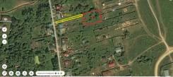 Участок ЛПХ 7 соток рядом с городом Серпухов в деревне Глазово. 700кв.м., собственность