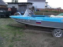 Казанка-5М4. Год: 2007 год, длина 4,00м., двигатель подвесной, 40,00л.с., бензин