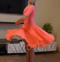 Платья для бальных танцев. Рост: 128-134, 134-140 см