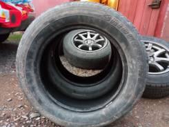 Bridgestone Dueler H/L. Всесезонные, износ: 80%, 2 шт