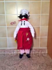Кукла ручной работы Повар - помощник на кухне!