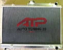Радиатор охлаждения двигателя. Nissan Skyline, ECR33, BCNR33, ER33, ENR33, HR33 Двигатель RB25DET