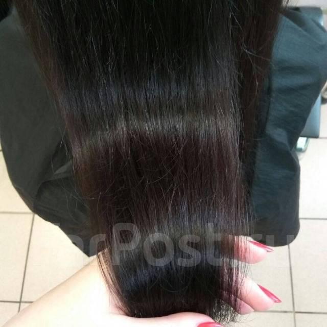 полировка волос в химках