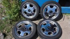 Шикарные колеса-хром Work 215/45/17 без пробега по рф. 7.0x17 4x114.30, 5x114.30 ET45 ЦО 72,0мм.