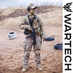 Чехол для бронепластин Wartech 6094 размер S/M, L/XL TV-103 Койот Олива