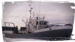 Продам рыболовный катер. Год: 2014 год, длина 19,00м., двигатель стационарный, дизель