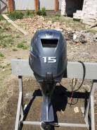 Yamaha. 15,00л.с., 4х тактный, бензин, нога S (381 мм), Год: 2014 год
