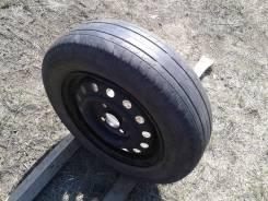 Одно колесо 165/70R13 на штамповке (сверловка 4*100)
