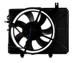 Вентилятор охлаждения радиатора. Hyundai Getz, TB Двигатели: G4EE, G4HG, G4EDG, G4HD, G4EA