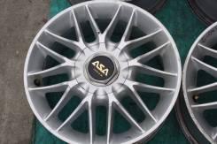 ASA Wheels. 7.0x16, 4x114.30, 5x114.30, ET48, ЦО 73,0мм.