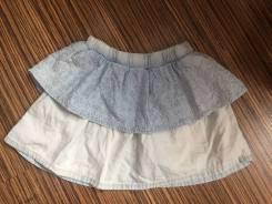 Юбки джинсовые. Рост: 98-104, 104-110, 110-116, 116-122 см