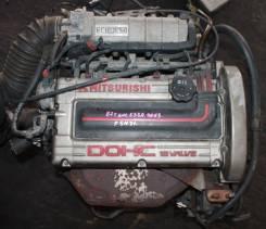 Двигатель в сборе. Mitsubishi Eterna, E33A Двигатель 4G63