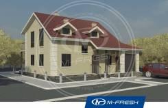 M-fresh Smart power. 200-300 кв. м., 2 этажа, 5 комнат, кирпич