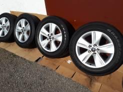 Оригинал Toyota R17 7J +39 5*114.3+жирное лето Dunlop 225/65/17 2015г. 7.0x17 5x114.30 ET39 ЦО 60,1мм.