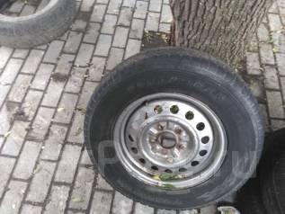 Отличное колесо 215/70/15 на запаску. 6.0x15 5x114.30