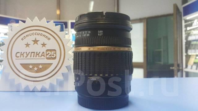 Объектив Tamron 17-50mm 1:2.8 ! Низкая Цена ! Магазин Скупка 25 !. Для Canon, диаметр фильтра 67 мм
