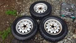 Продам три колеса на штамповке. x14 5x114.30