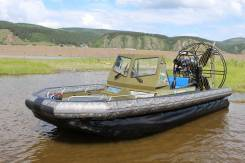 """Аэролодка Фантом 650 """"Охотник"""". Год: 2017 год, длина 6,10м., двигатель стационарный, 264,00л.с., бензин. Под заказ"""