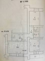 2-комнатная, проспект Первостроителей 41. частное лицо, 60 кв.м.