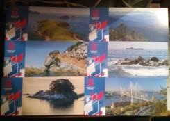 Набор открыток Владивосток. Комплект 6 открыток.
