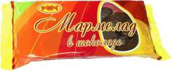 Мармелад в шоколаде пп/л 0.275 пп/у 0.250кг (на агаре) 1/13шт (Рахат, Казахстан), , шт