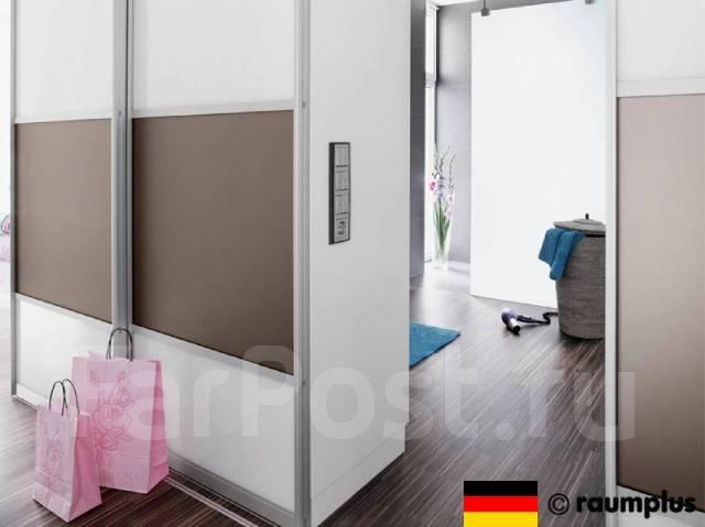 Изготавливаем стильные шкафы-купе из профиля Raumplus. Германия. Под заказ