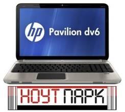 "HP Pavilion dv6-6101er. 15.6"", 1,6ГГц, ОЗУ 6144 МБ, диск 750 Гб, WiFi, Bluetooth, аккумулятор на 2 ч."