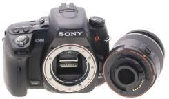Sony Alpha DSLR-A580 Kit. 15 - 19.9 Мп, зум: 3х. Под заказ
