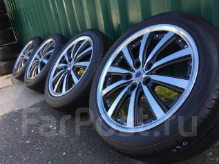 Готовый комплект Steiner R17+жирное лето Bridgestone 225/45/17 2016год. 7.0x17 5x114.30 ET55 ЦО 73,0мм.
