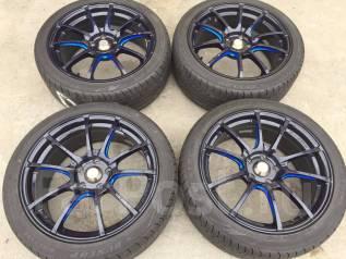 Weds Sport SA-55M. 8.0x18, 5x114.30, ET45, ЦО 73,1мм.