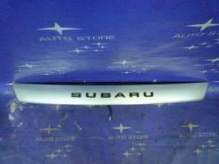 Накладка на дверь багажника. Subaru Forester, SG5, SG9, SG, SG9L Двигатели: EJ203, EJ202, EJ205, EJ25, EJ204, EJ201, EJ255, EJ20