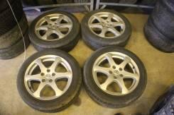 Комплект колес оригинал Stagea M35 Skyline V35. 7.0x17 5x114.30 ET45