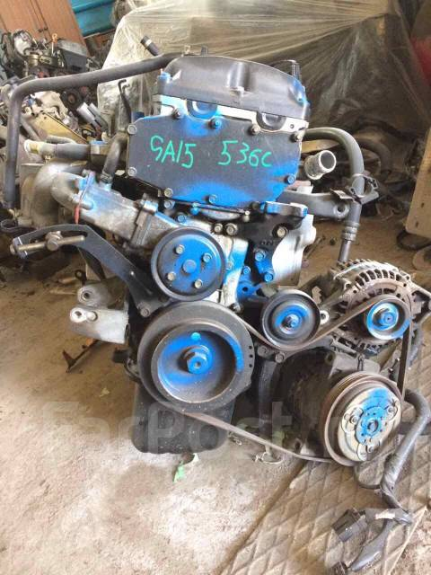 Двигатель в сборе. Nissan: Sunny California, Wingroad, Pulsar, Presea, Sunny, Lucino, AD Двигатели: GA15DE, GA15DS